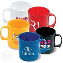 6 Branded & Personalized Mugs