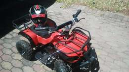 electric kids quad bike and helmet for free top of the range