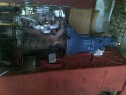 Nissan 1400 engine,gearbox and diff R3500