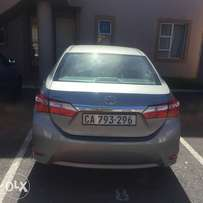 2014 Toyota Corolla 1.6 Esteem, grey with 26000km available now!