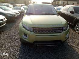 Toks Range Rover Evogue 2012 model