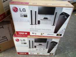 1000Watts LG Homethetre 6635T with Bluetooth Brand New at Shop