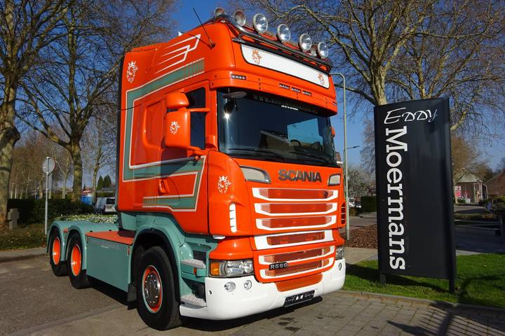 Scania R560 Topline 6x4 - 2013