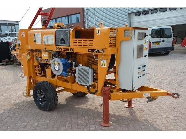 Cifa Pcs 209 E6 Concrete Pump - 2015