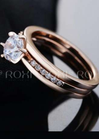 ROXI Top Quality 18K Rose Gold Plated Ring Kasarani - image 2