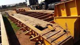 2007 Martin 4 Axle Hydraulic Weldec Clipneck Lowbed Trailer for sale