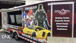 Mobile Video Game Theatre on Wheels for Sale in Abuja