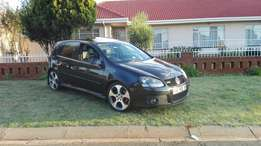 Vw golf 5 GTI with service history