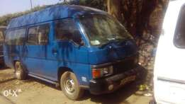 Nissan caravan highroof diesel manual asking 330k