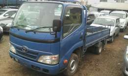 Toyota TOYOACE year 2009,3000 CC, manual diesel.