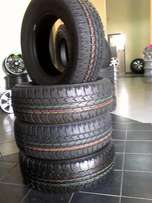 New Bridgestone dueler A/T 265/65/R17 Tyres with mag rims for Toyota H