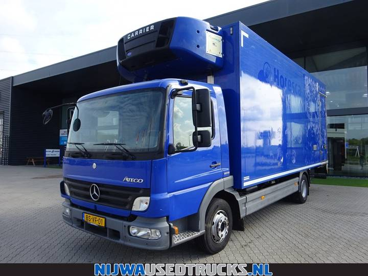 Mercedes-Benz Atego 916 Carrier koeler + Laadklep - 2007