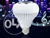 LED music bulb speaker with bluetooth