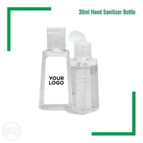 Hand sanitizer promotional with printing