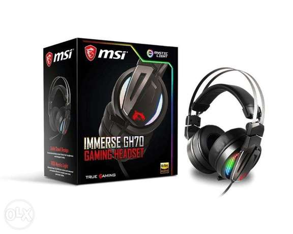 New MSI Gaming Headset GH70 7.1