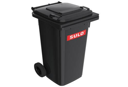 Europubele din material plastic , 120 l waste container