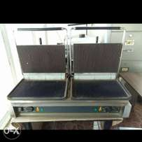 Double Commercial Electric Griddle