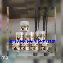 Asian white body cream
