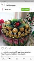 Lovely chocolate bouquet