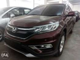 Honda CRV 2016 model New shape With Leather seats