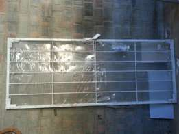 Brand new security gate, galvanised, R600 neg