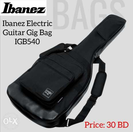 New Ibanez Black Powerpad Electric Guitar Gig Bag available in stock.