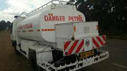 Petroleum tanker canter