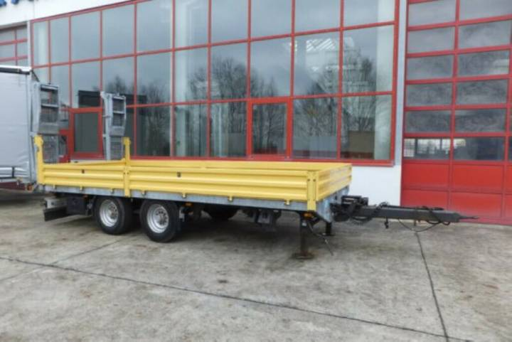 Obermaier OS2-TUE135S 13,5 t Tandemtieflader - 2012