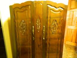 Imbuia wood wardrobe for sale