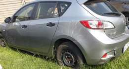Stripping of Mazda 3 for spares