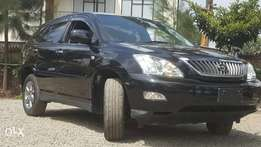 Toyota harrier leather black 2010