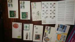 105 Rare First Day Covers.