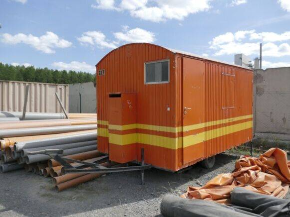 site  office container for sale by auction