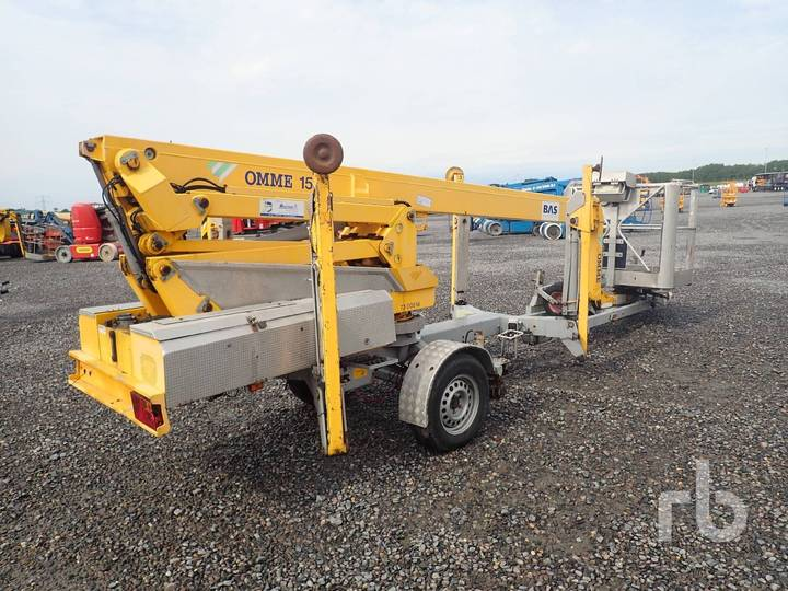 Omme 1550EBZX Electric Tow Behind Articulated - 2002
