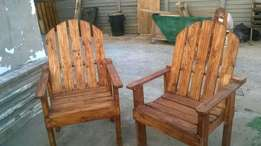 Laid back chairs