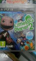 Little Big planet 2,for playstation 3 blu ray disk.very clean