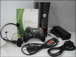 Xbox 360 slim jtagged 10 games free 1 controller