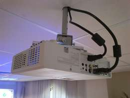 Projector stand and installation