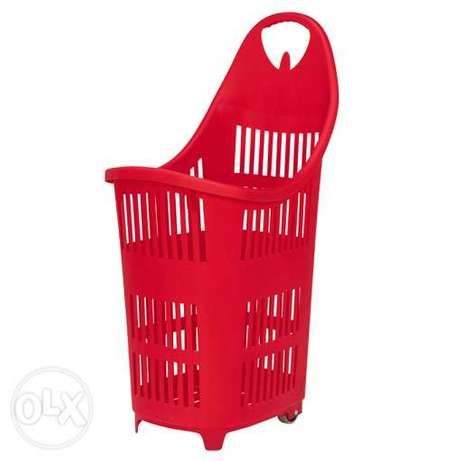Trolley for supermarket shops POS NEW