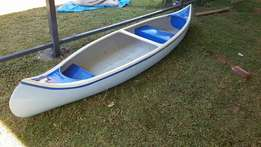 Two man Indian Canoe