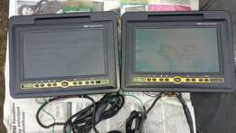 Headrest DVD screens to swap 4 a phone or car sound