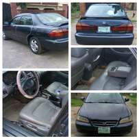 Honda accord 2002 baby boy very clean with full options.