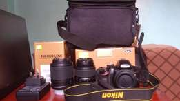 NIKON CAMERA ON SALE- D3200 (quick sale)