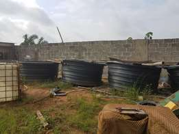 Tank for fish farming