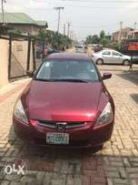 Honda Accord 2005 model NEATLY USED BY A LADY