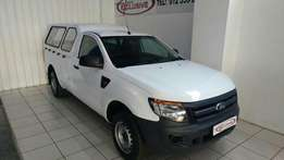 2015 Ford Ranger 2.2TDCi single cab with 88000km on