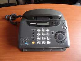 Panasonic Fax Telephone Answering Machine Copier compact