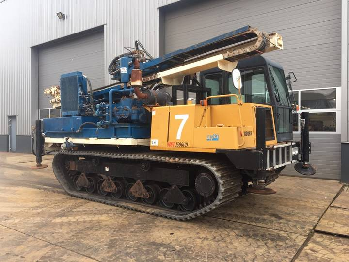 Morooka MST-1500 Crawler Drill - 2014