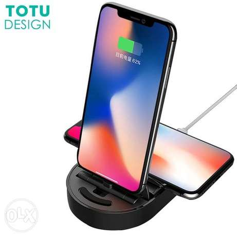 TOTU Design Qi Wireless Charger iPhone Charge Dock