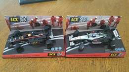 SCX Set of two F1 cars Minardi and McLaren